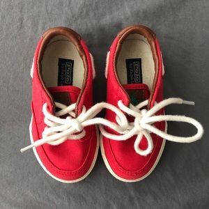 POLO by Ralph Lauren Red Shoes